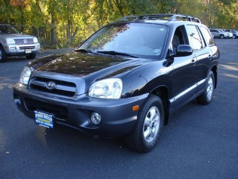 2005 hyundai santa fe gls data info and specs. Black Bedroom Furniture Sets. Home Design Ideas