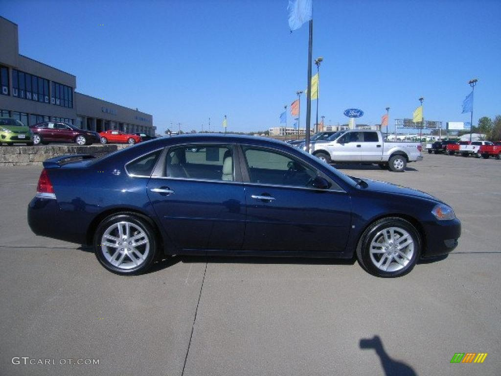 Imperial blue metallic 2008 chevrolet impala ltz exterior photo 38518719