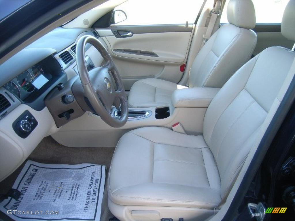Neutral Beige Interior 2008 Chevrolet Impala Ltz Photo 38519107