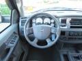 Medium Slate Gray Steering Wheel Photo for 2007 Dodge Ram 3500 #38520771
