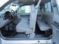 2005 Ford F250 Super Duty Medium Flint Interior Prime Interior Photo