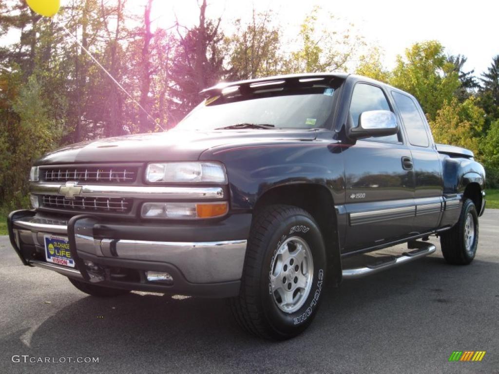 2000 Indigo Blue Metallic Chevrolet Silverado 1500 Z71