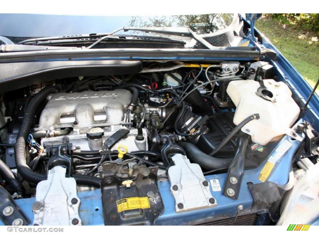 1999 Oldsmobile Silhouette Gls Engine Photos