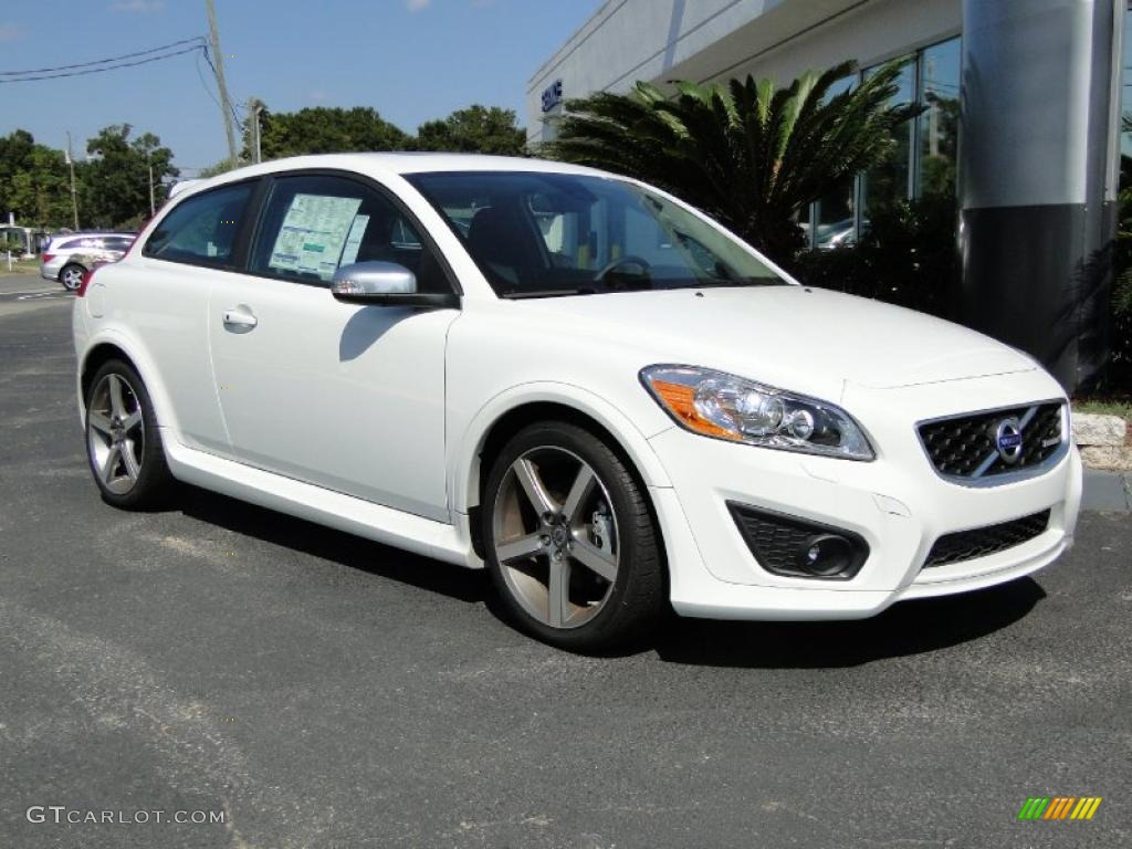 cosmic white metallic 2011 volvo c30 t5 r design exterior photo 38539099. Black Bedroom Furniture Sets. Home Design Ideas