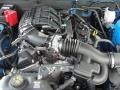 2011 Grabber Blue Ford Mustang V6 Premium Coupe  photo #16