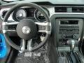 2011 Grabber Blue Ford Mustang V6 Premium Coupe  photo #23