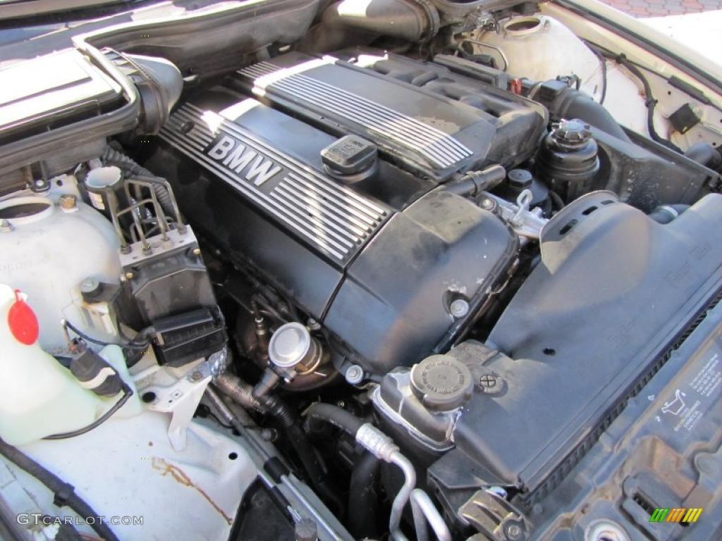 2001 Bmw 5 Series 525i Sedan 2 5l Dohc 24v Inline 6 Cylinder Engine Photo  38541539