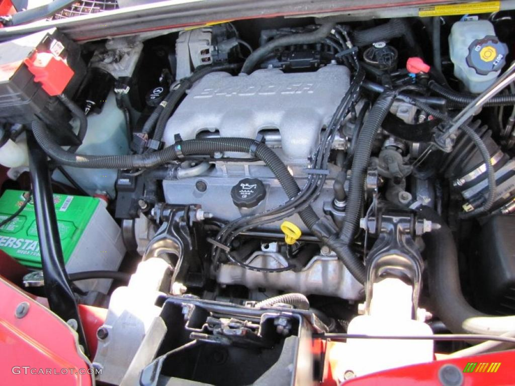 2003 Pontiac Aztek Standard Aztek Model Engine Photos