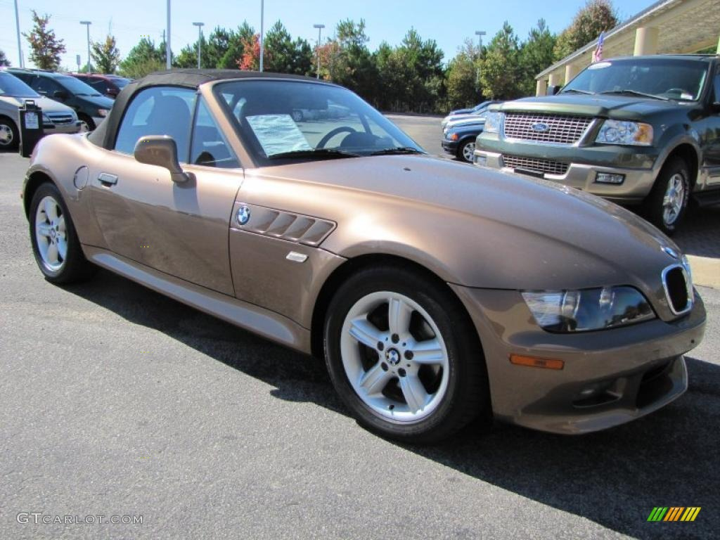 impala brown metallic 2000 bmw z3 2 3 roadster exterior. Black Bedroom Furniture Sets. Home Design Ideas