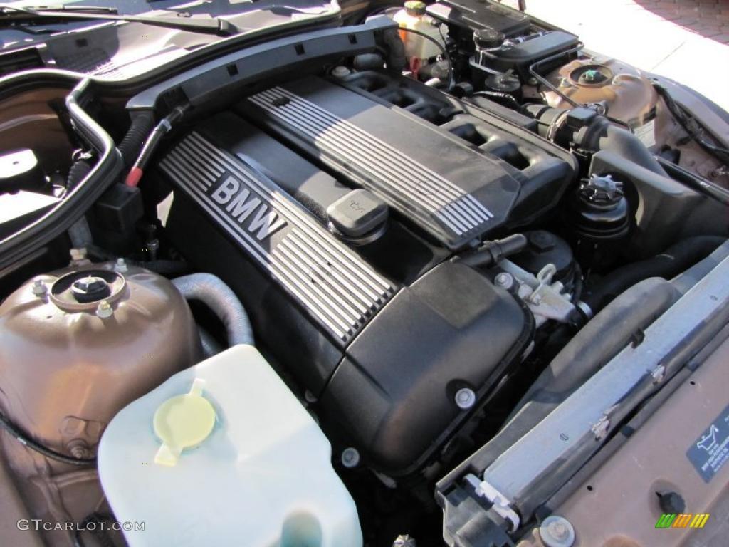 2000 Bmw Z3 2 3 Roadster 2 5 Liter Dohc 24 Valve Inline 6