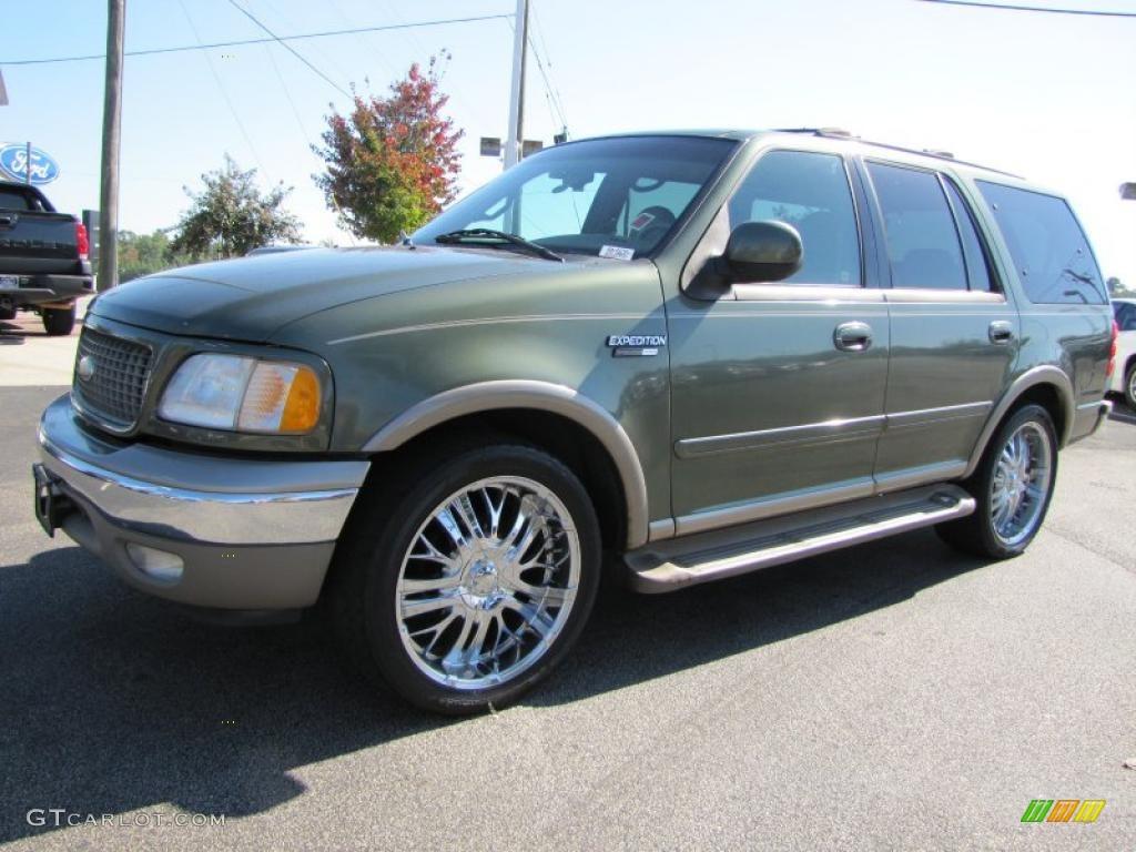 2001 estate green metallic ford expedition eddie bauer 38475407 car color. Black Bedroom Furniture Sets. Home Design Ideas
