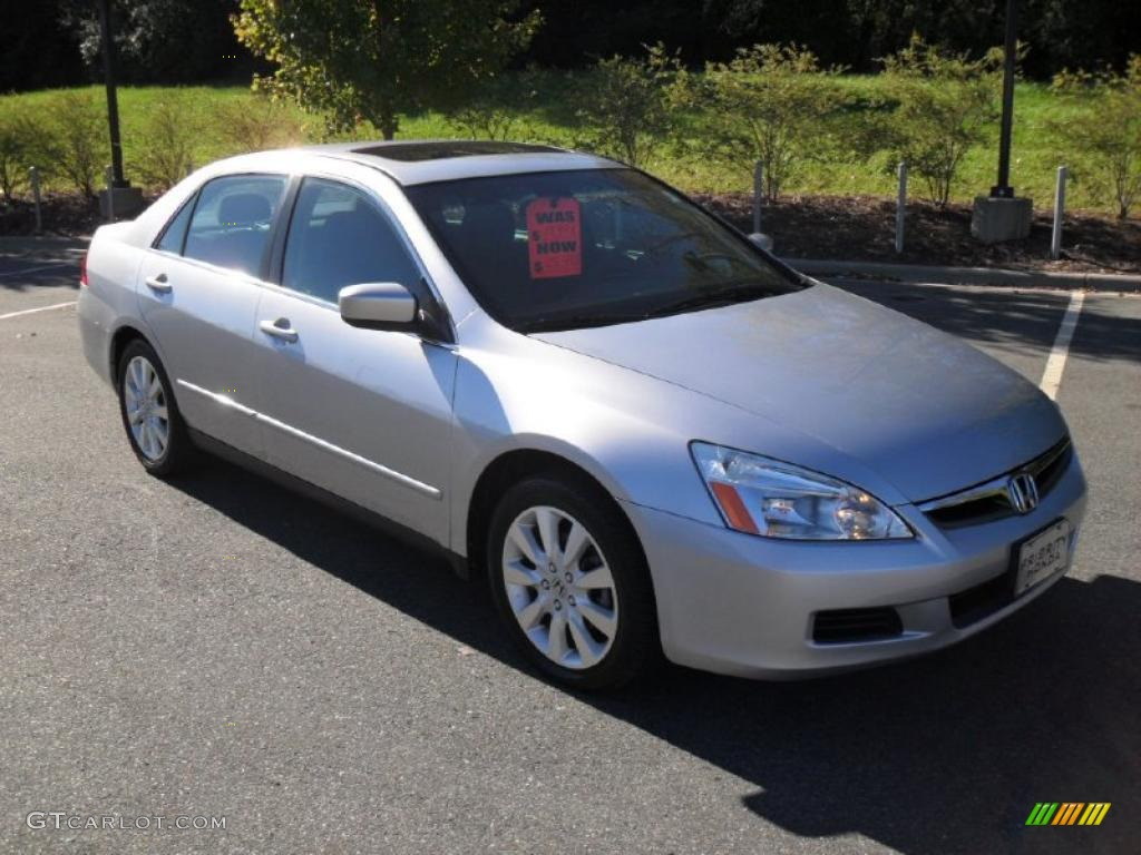 2008 Honda Accord Ex L V6 Sedan ... Silver Metallic 2007 Honda Accord LX V6 Sedan Exterior Photo #38550549