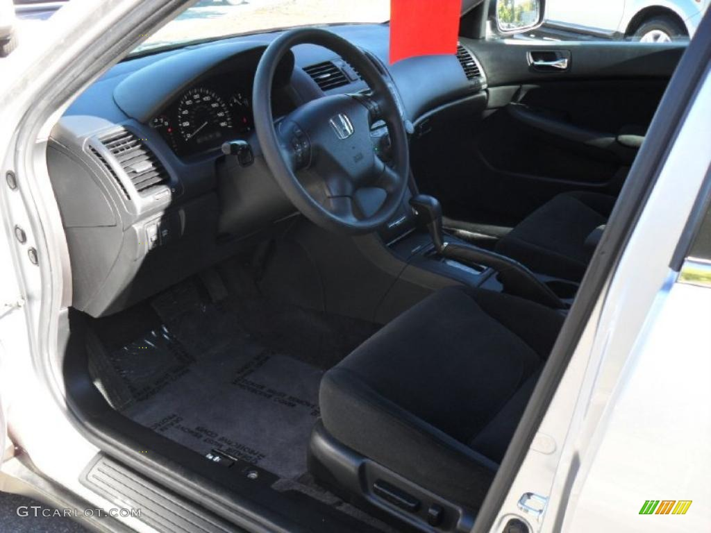 Black Interior 2007 Honda Accord LX V6 Sedan Photo #38550841 | GTCarLot.com