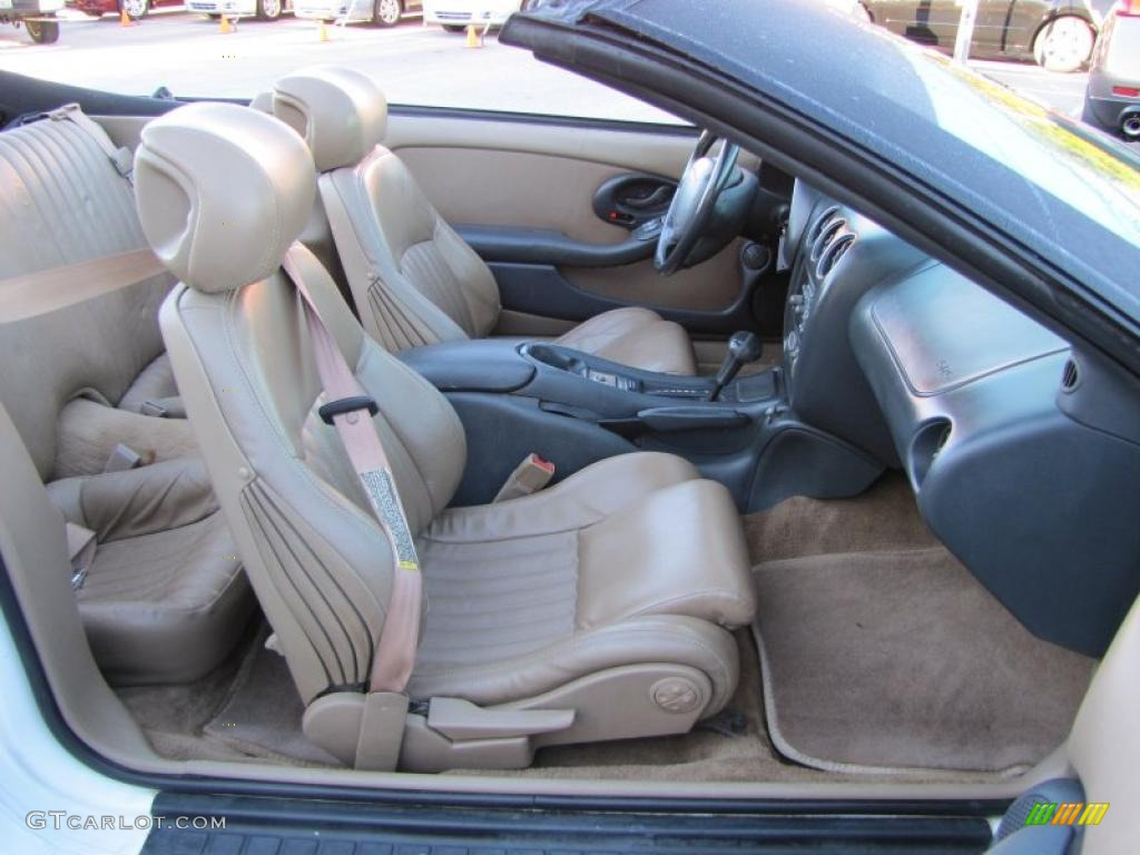 Medium Beige Interior 1995 Pontiac Firebird Convertible Photo 38555229