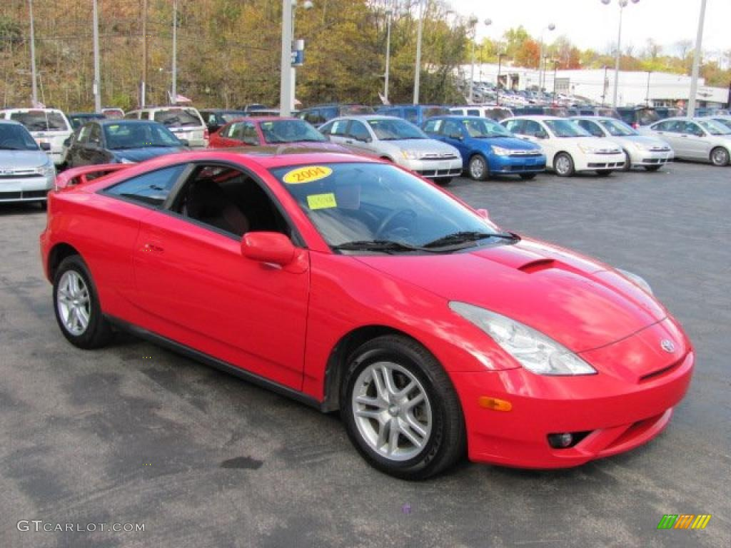 Absolutely Red 2004 Toyota Celica GT Exterior Photo #38556017