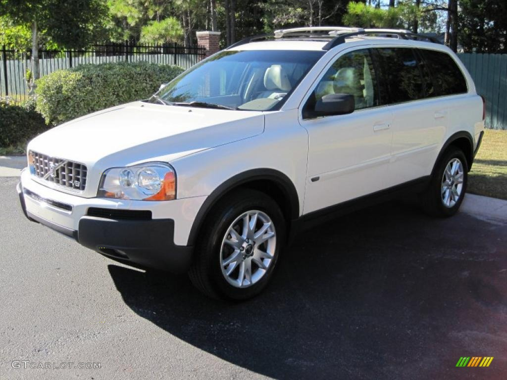 2006 white pearl metallic volvo xc90 v8 awd 38548909. Black Bedroom Furniture Sets. Home Design Ideas