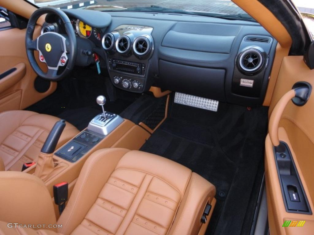 tan interior 2006 ferrari f430 spider photo 38559013. Black Bedroom Furniture Sets. Home Design Ideas