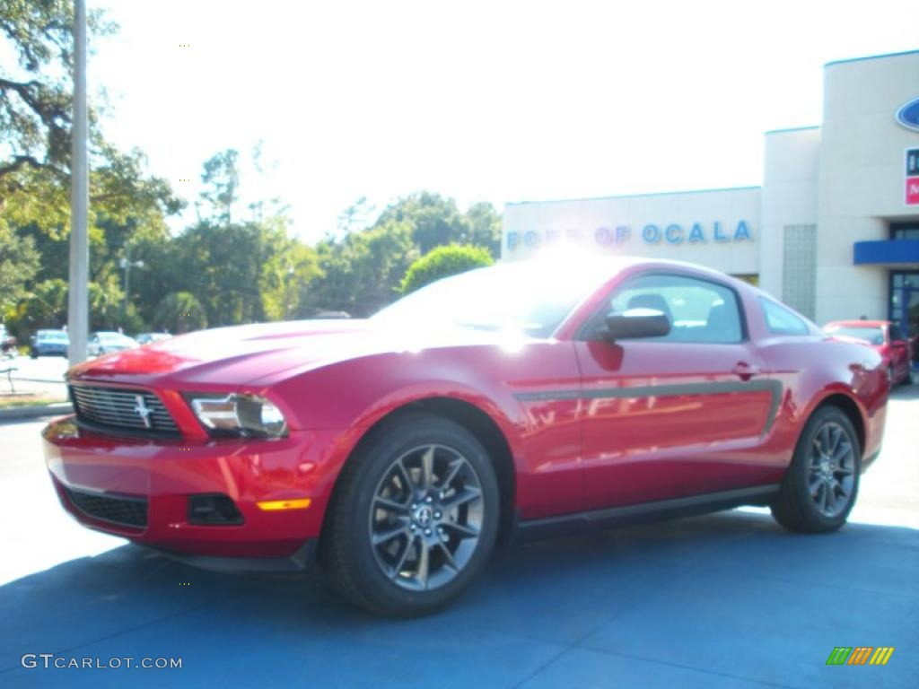2011 Mustang V6 Mustang Club of America Edition Coupe - Red Candy Metallic / Charcoal Black photo #1