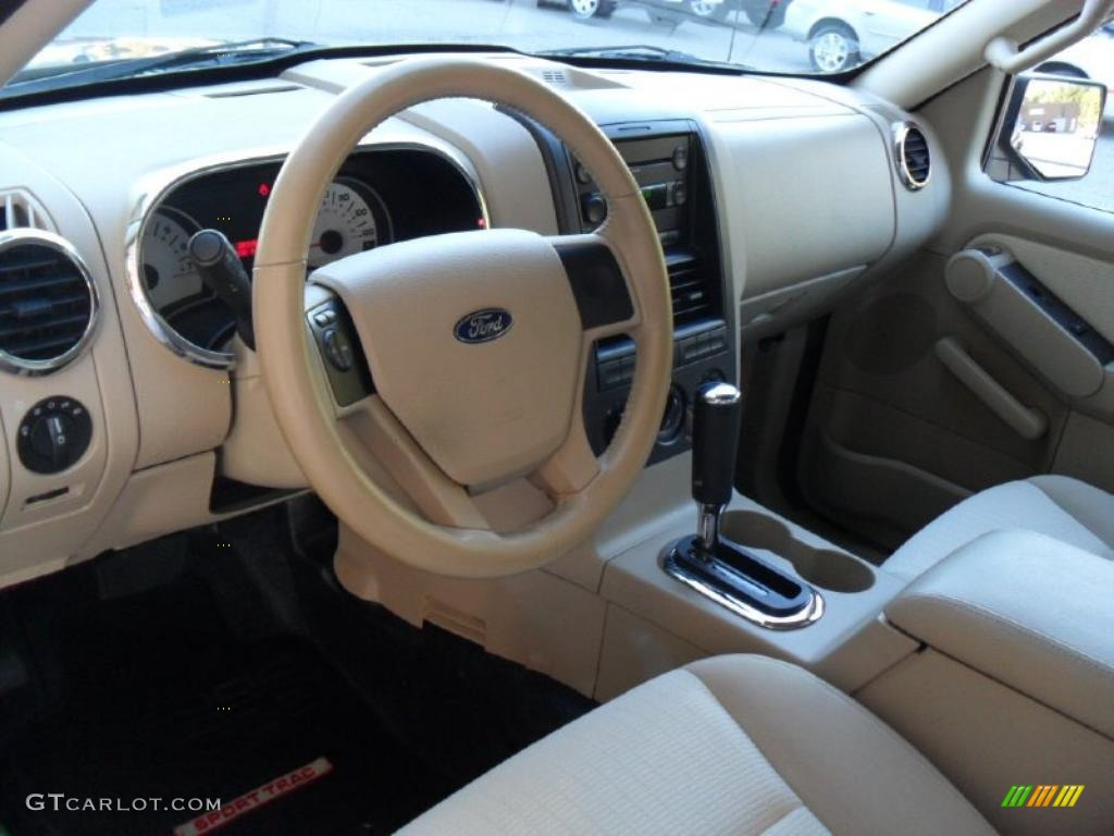 Camel Interior 2007 Ford Explorer Sport Trac Limited Photo 38564601