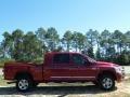 2008 Inferno Red Crystal Pearl Dodge Ram 3500 Laramie Mega Cab 4x4  photo #6