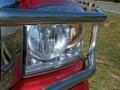2008 Inferno Red Crystal Pearl Dodge Ram 3500 Laramie Mega Cab 4x4  photo #10