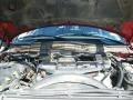 2008 Inferno Red Crystal Pearl Dodge Ram 3500 Laramie Mega Cab 4x4  photo #30