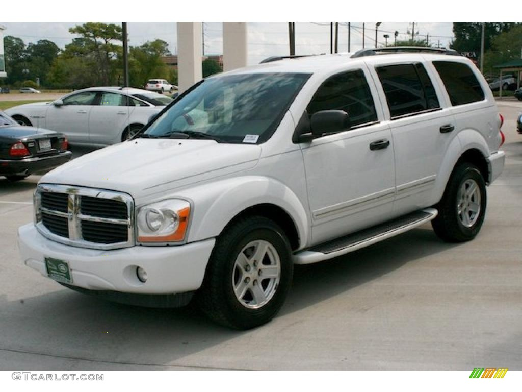 bright white 2004 dodge durango limited exterior photo. Black Bedroom Furniture Sets. Home Design Ideas