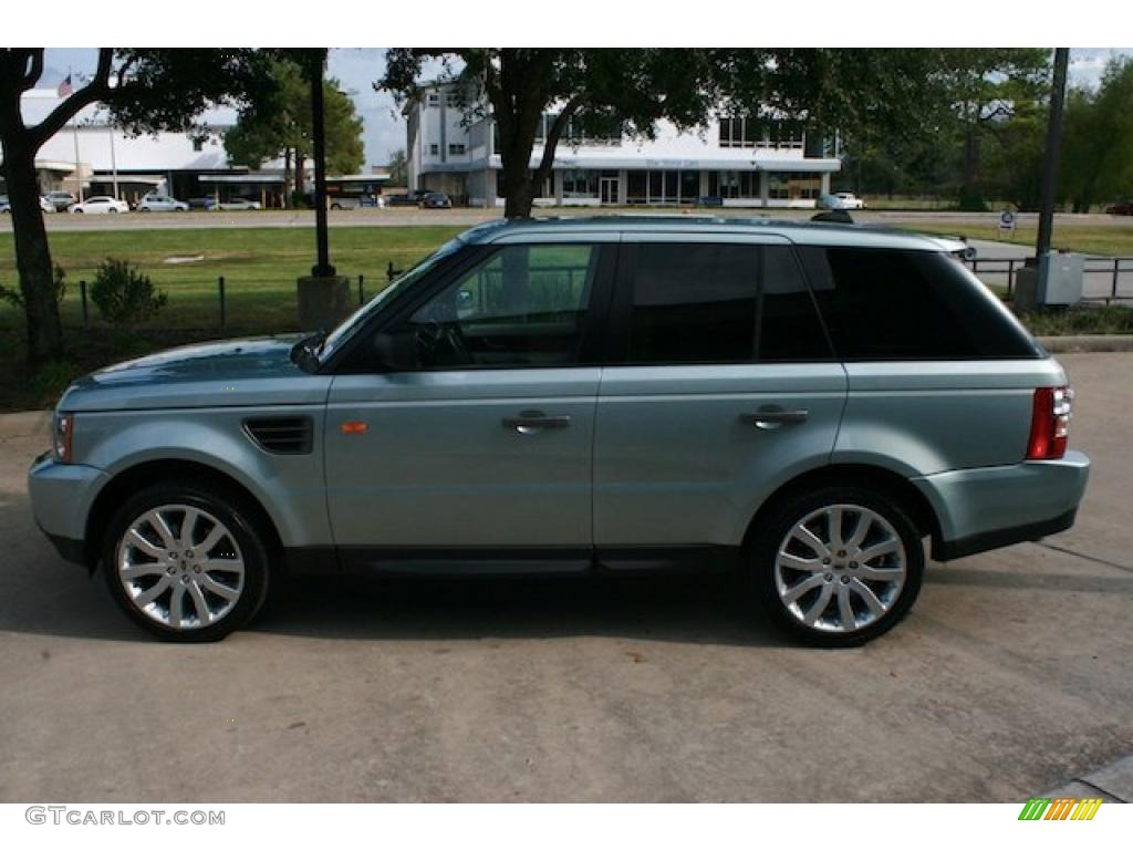 2007 arctic frost metallic land rover range rover sport. Black Bedroom Furniture Sets. Home Design Ideas