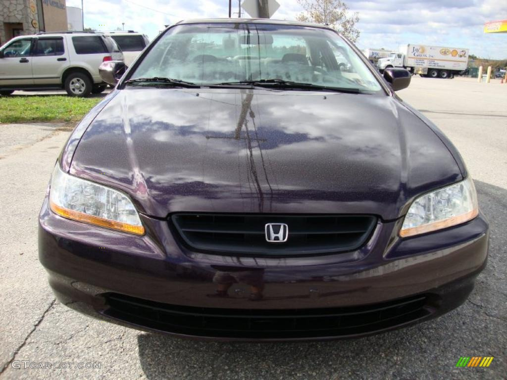 1999 black currant pearl honda accord ex v6 coupe. Black Bedroom Furniture Sets. Home Design Ideas