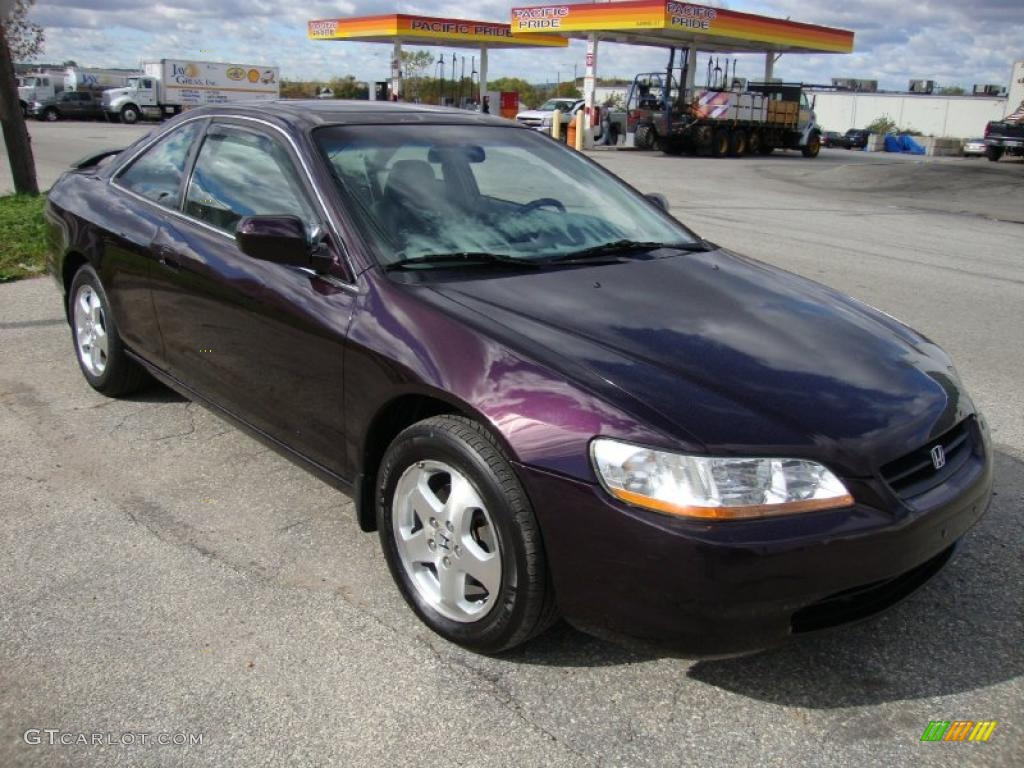 2002 Honda Civic Transmission Black Currant Pearl 1999 Honda Accord EX V6 Coupe Exterior Photo ...