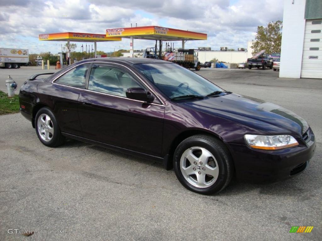 black currant pearl 1999 honda accord ex v6 coupe exterior. Black Bedroom Furniture Sets. Home Design Ideas