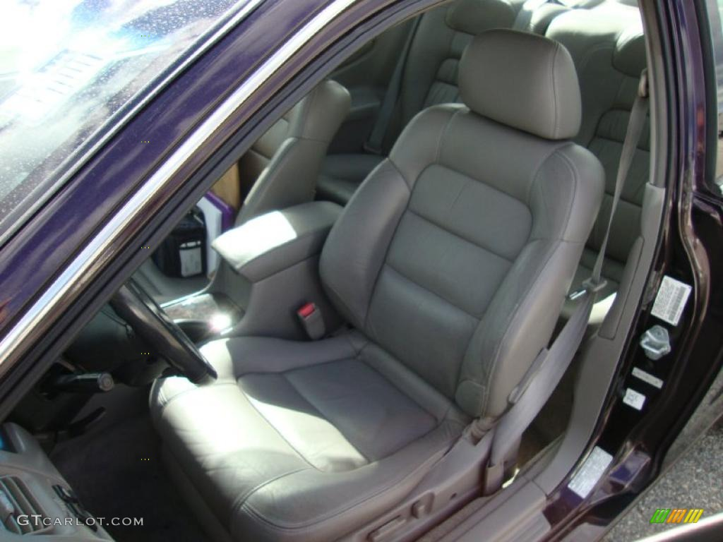 Gray Interior 1999 Honda Accord Ex V6 Coupe Photo