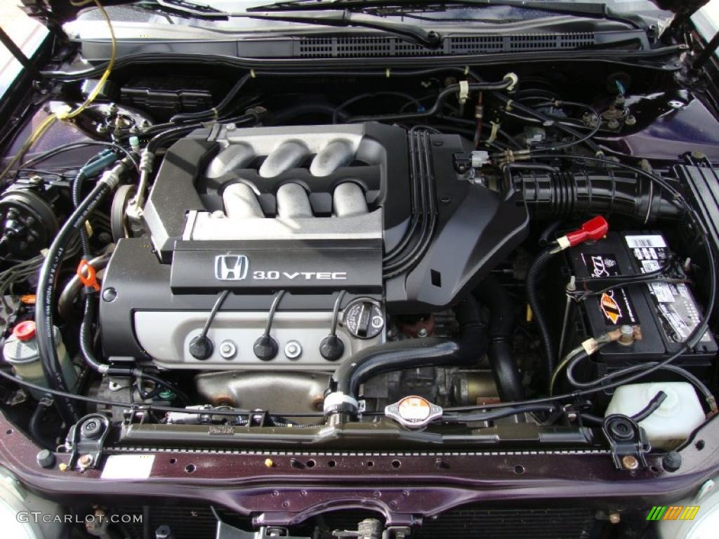 1999 Honda Accord Ex V6 Coupe 30l Sohc 24v Vtec Engine Photo 38585909