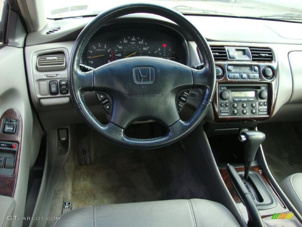 1999 Honda Accord Ex V6 Coupe Gray Dashboard Photo 38586109 Gtcarlot Com