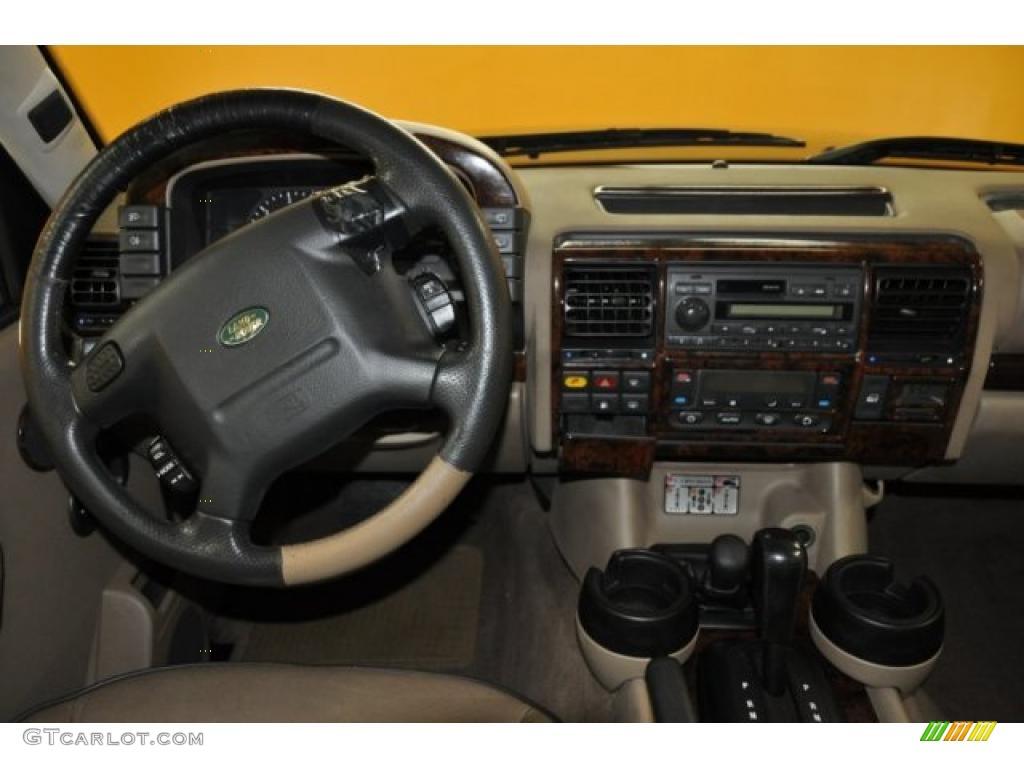 Bahama Beige Interior 2002 Land Rover Discovery Ii Se Photo 38595765