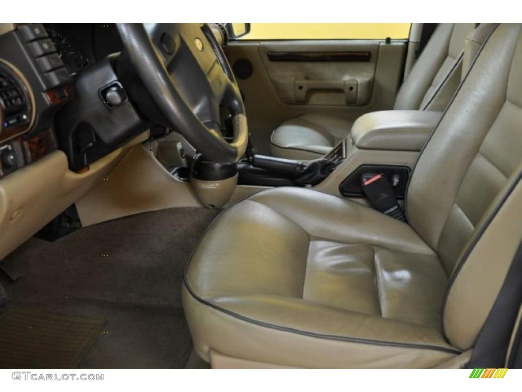 Bahama Beige Interior 2002 Land Rover Discovery Ii Se Photo 38595821