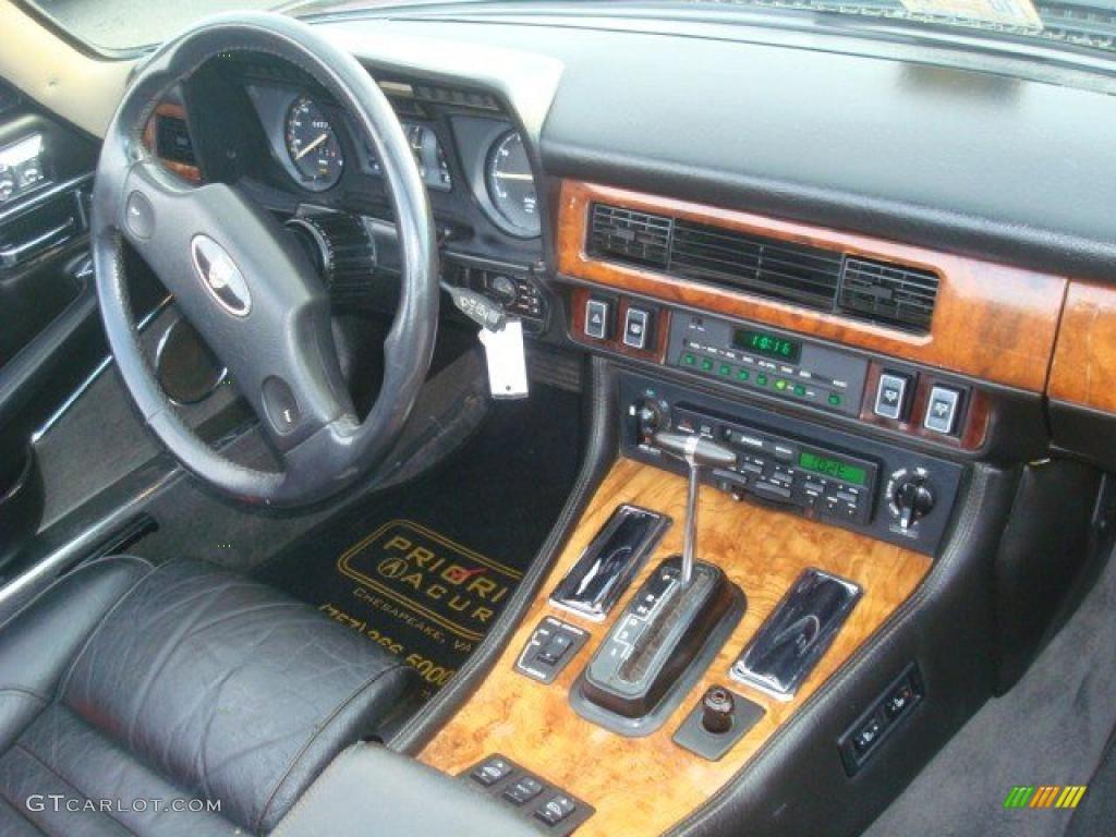 Black Interior 1989 Jaguar Xj Xjs V12 Coupe Photo