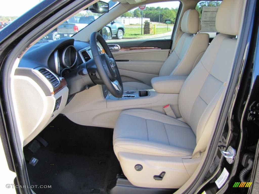 Black Light Frost Beige Interior 2011 Jeep Grand Cherokee Limited Photo 38601481