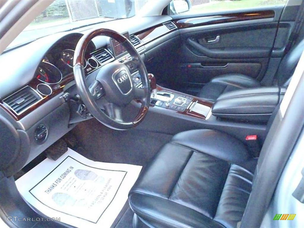 Black Interior 2006 Audi A8 4 2 Quattro Photo 38605581