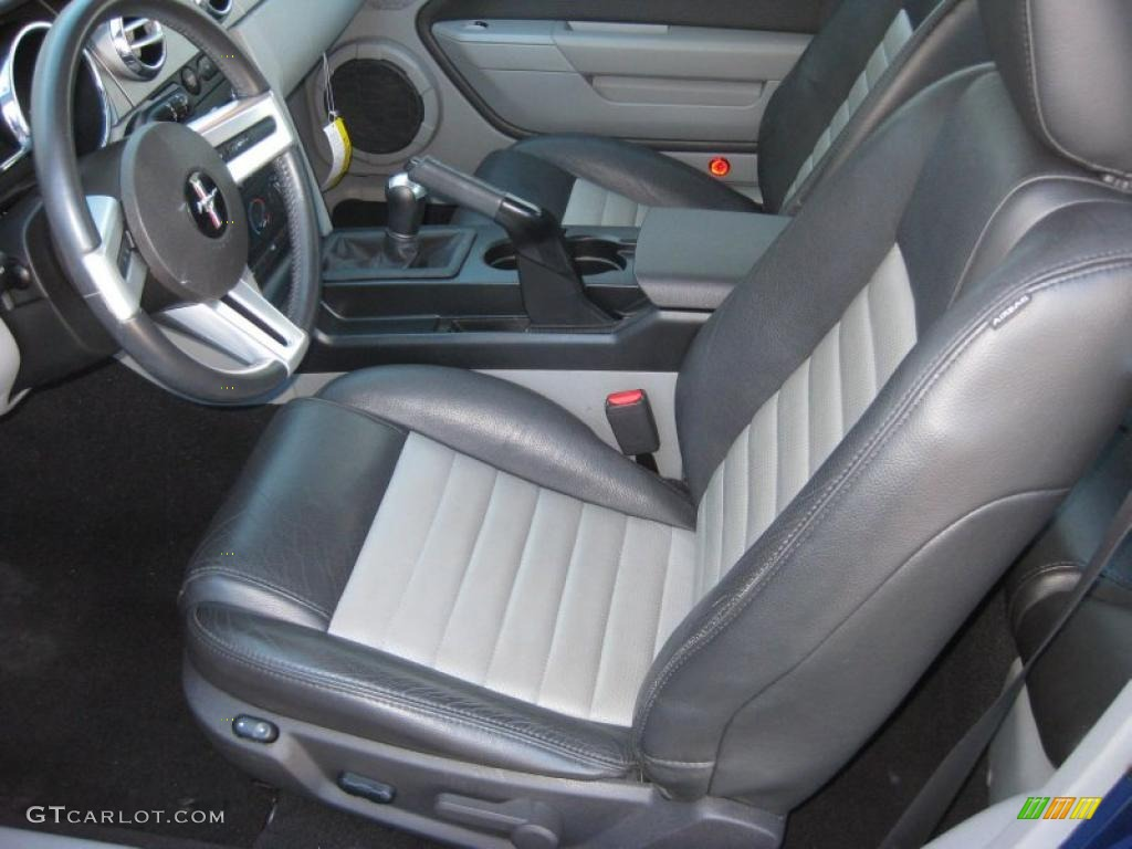 Charcoal Black Dove Interior 2008 Ford Mustang Gt Cs California Special Coupe Photo 38611937
