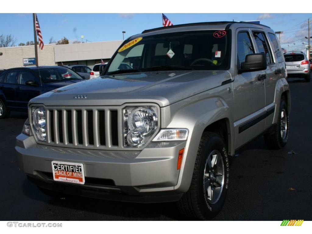 2008 Light Graystone Pearl Jeep Liberty Sport 4x4 38549673 Car Color Galleries