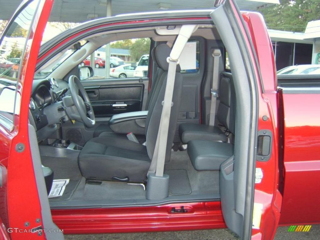 Slate Interior 2007 Mitsubishi Raider Ls Extended Cab