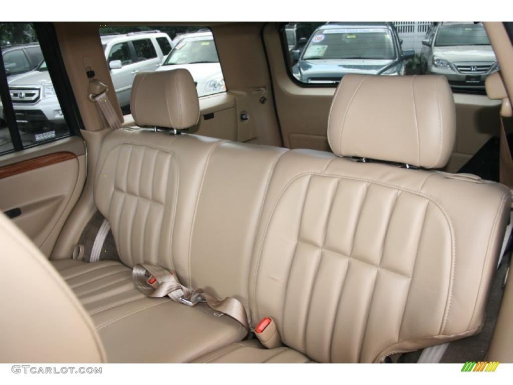 Camel Interior 1999 Jeep Grand Cherokee Limited 4x4 Photo 38620438