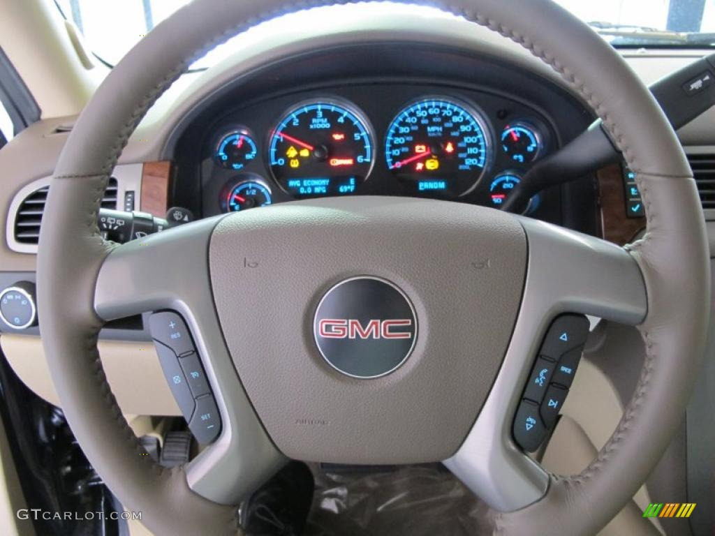 2011 GMC Yukon SLT Steering Wheel Photos   GTCarLot.com
