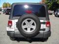 2011 Bright Silver Metallic Jeep Wrangler Rubicon 4x4  photo #3