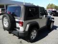 2011 Bright Silver Metallic Jeep Wrangler Rubicon 4x4  photo #4