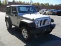 2011 Bright Silver Metallic Jeep Wrangler Rubicon 4x4  photo #5