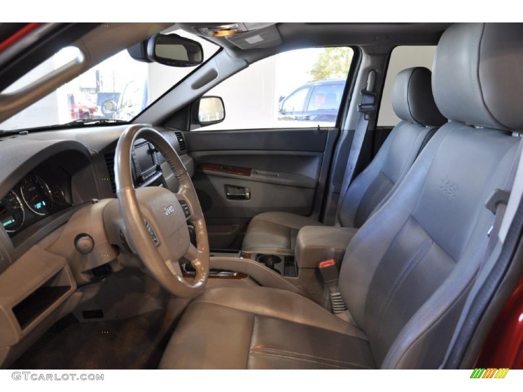 Medium Slate Gray Interior 2005 Jeep Grand Cherokee Limited Photo 38632834