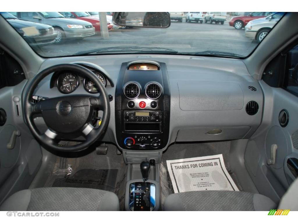 on 2004 Chevrolet Aveo Interior