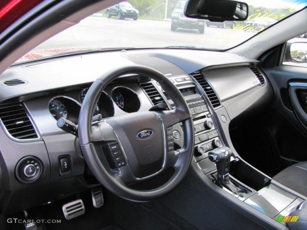 Charcoal Black Interior 2010 Ford Taurus SHO AWD Photo ...